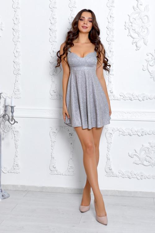 Платье 3531 бежевый