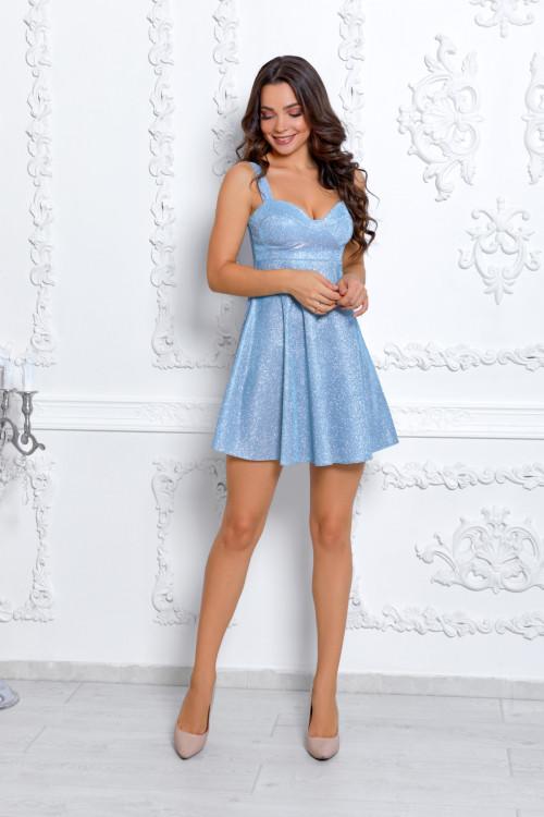 Платье 3531 голубой