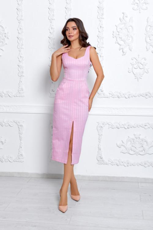 Платье 3529 розовый