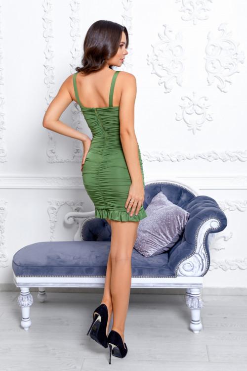 Платье 3533 хаки