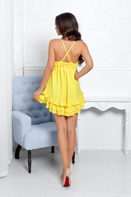 Платье 3532 желтый