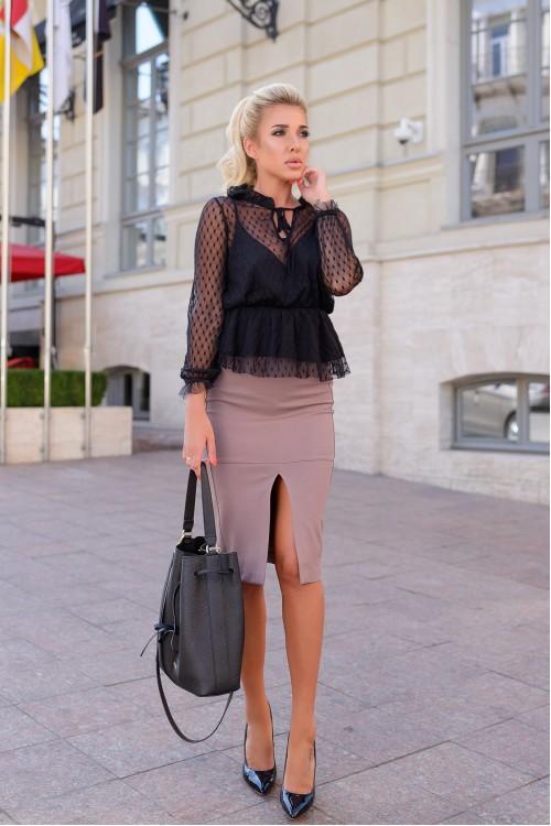 Блузка 2092 черный