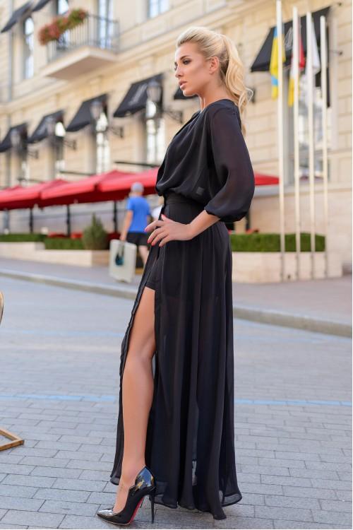 Платье 3390 черный