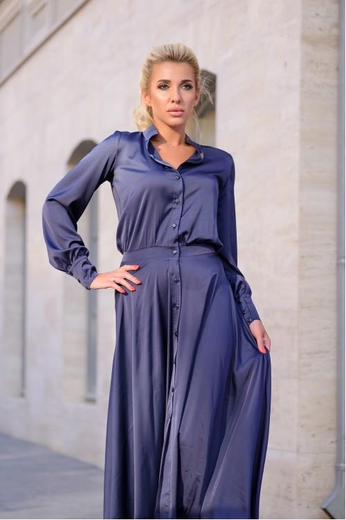 Платье 3392 синий