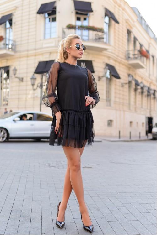 Платье 3404 черный