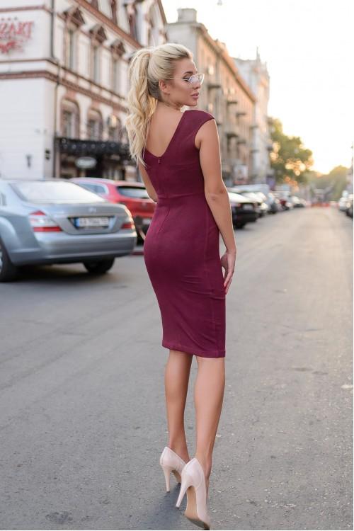 Платье 3411 марсал