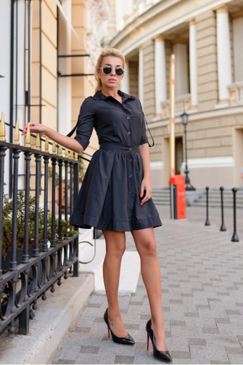 Платье 3356 черный
