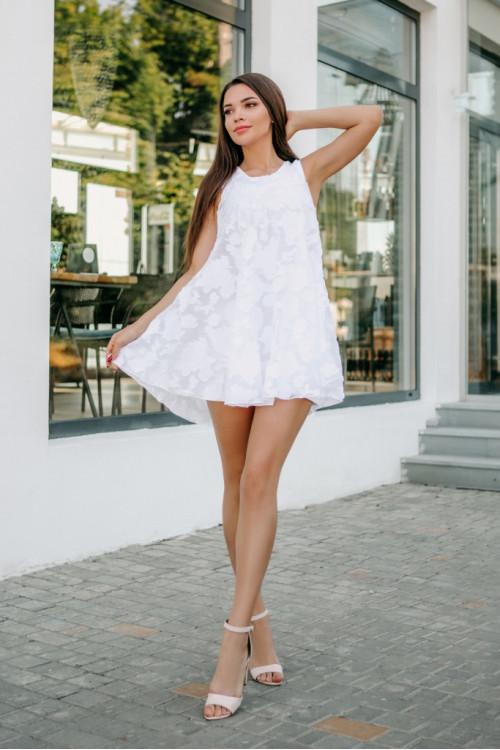 Платье 3464 белый