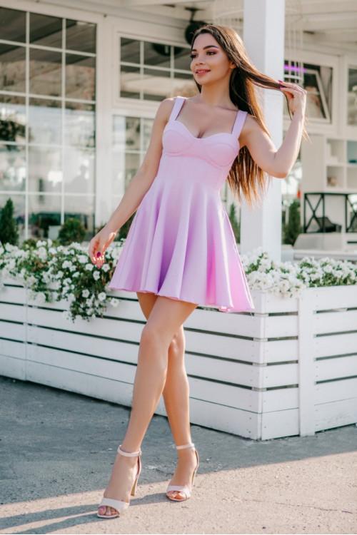 Платье 3458 сирень
