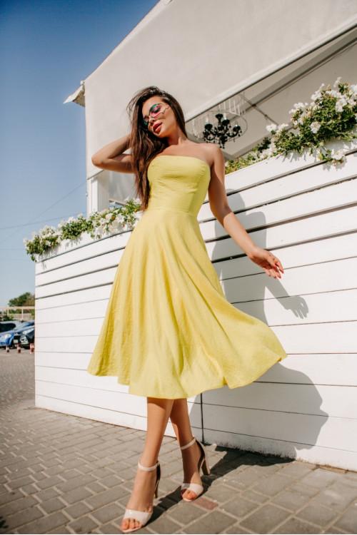 Платье 3362 салатовый