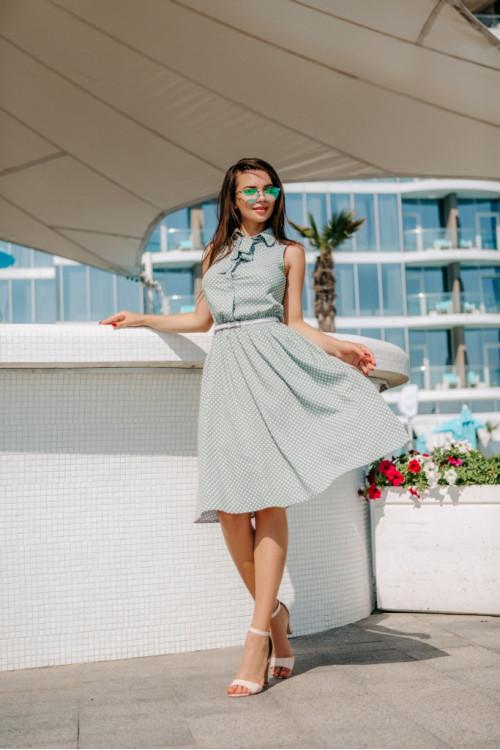 Платье 3461 зеленый