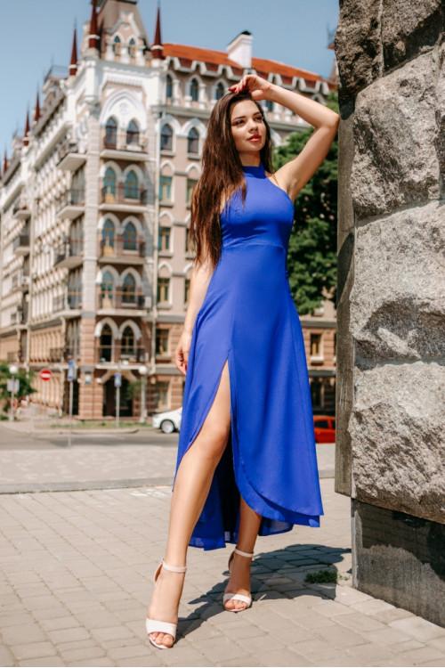Платье 3429 синий
