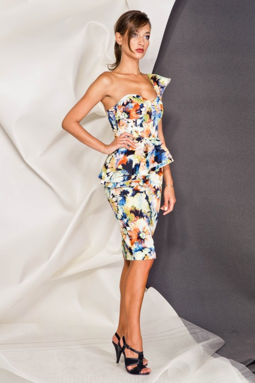 Платье 3380 желтый