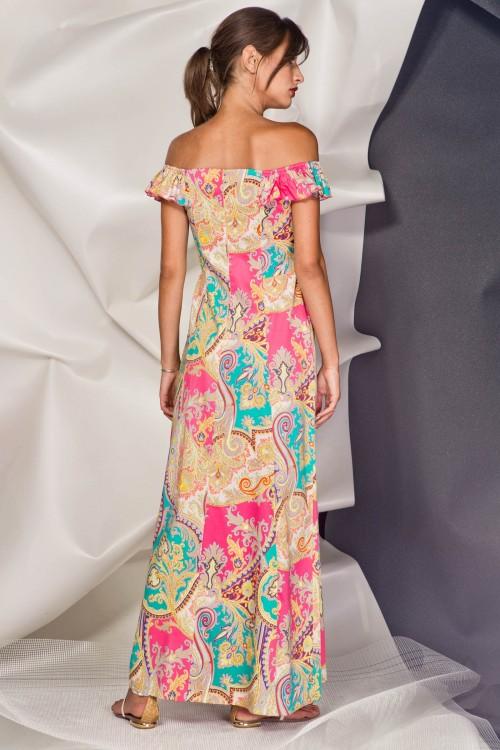 Платье 3374 бирюза