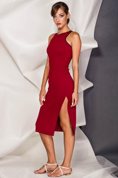 Платье 3384 марсал