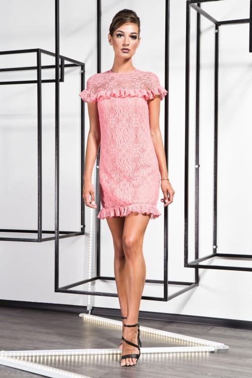 Платье 3365 персик