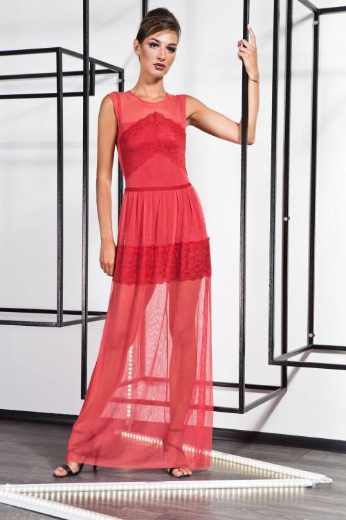 Платье 3372 красный