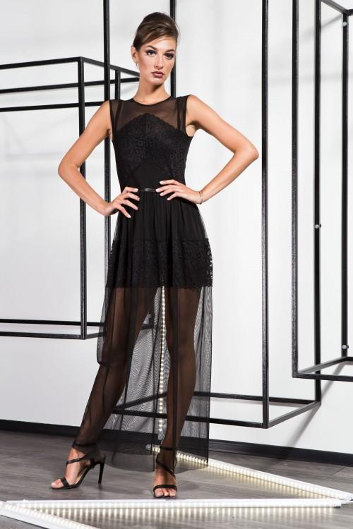 Платье 3372 черный
