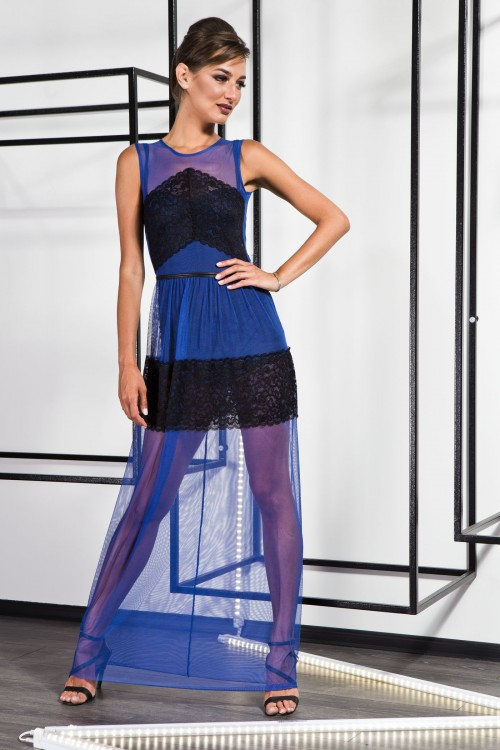 Платье 3372 электрик