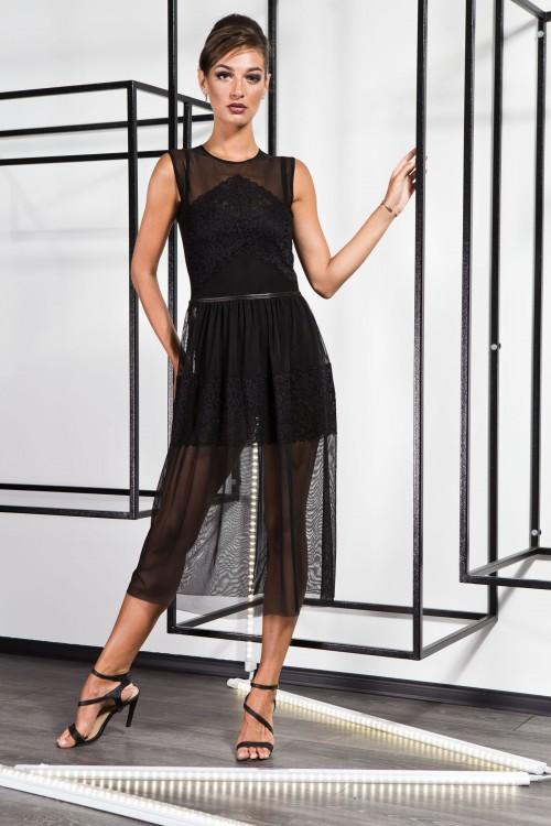 Платье 3373 черный