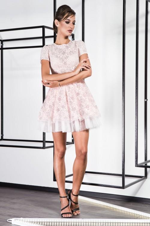 Платье 3367 персик