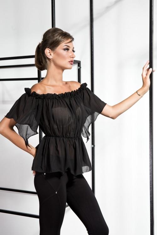 Блузка 2088 черный