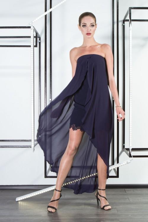 Платье 3311 синий