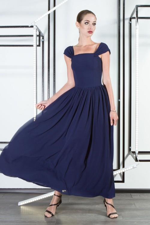 Платье 3301 синий