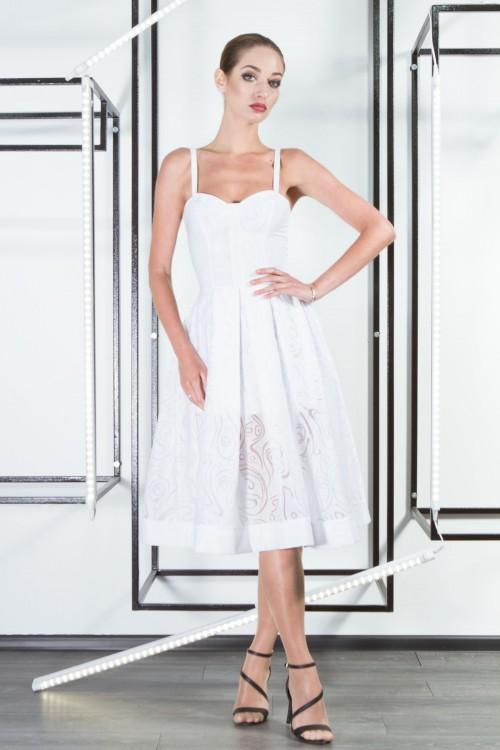 Платье 3304 белый