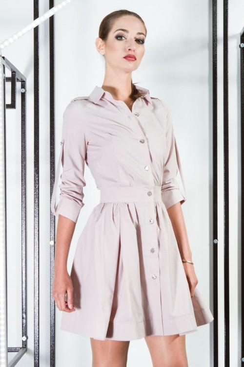 Платье 3356 бежевый