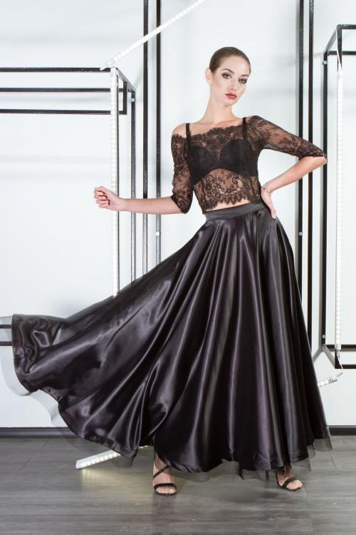 Блуза 2086 черный