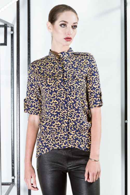 Рубашка 2052 желтый
