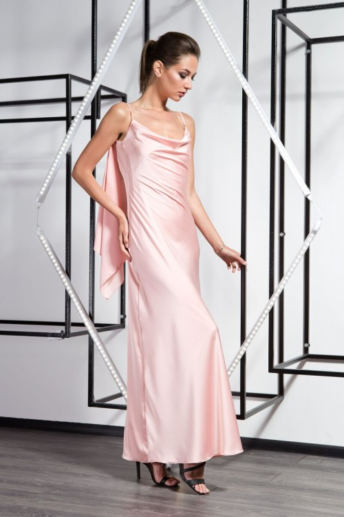 Платье 3360  персик