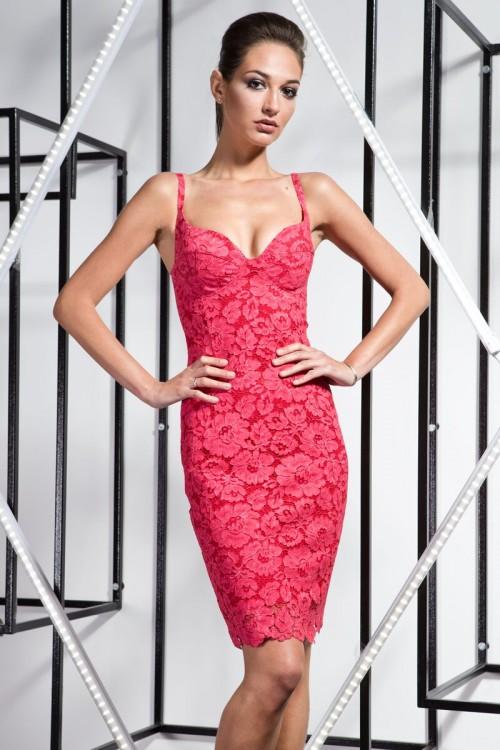 Платье 3363 малина