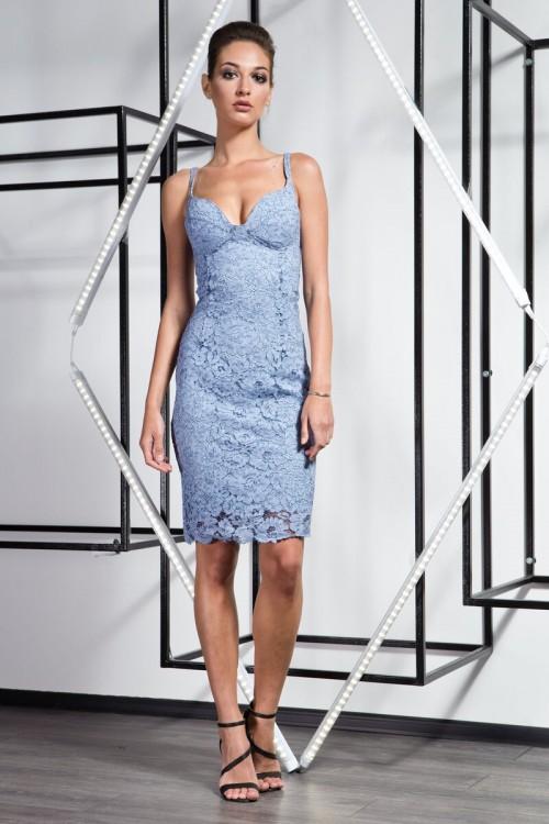 Платье 3363 джинс