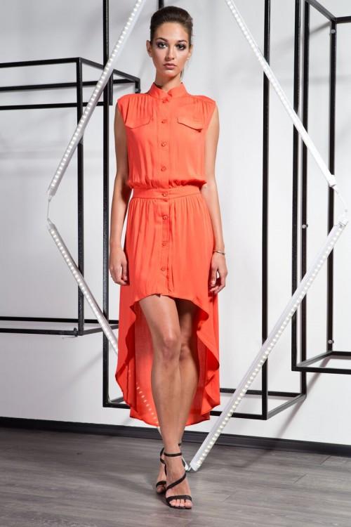 Платье 3031 оранжевый