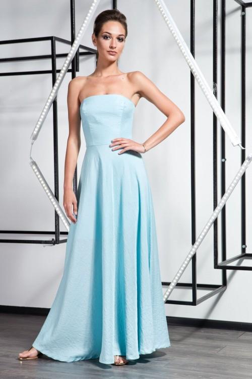 Платье 3362 голубой