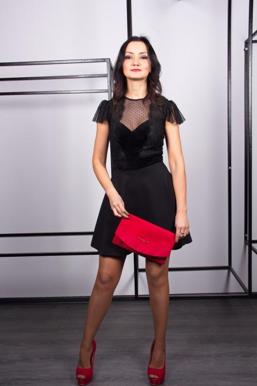 Платье 3407 черный