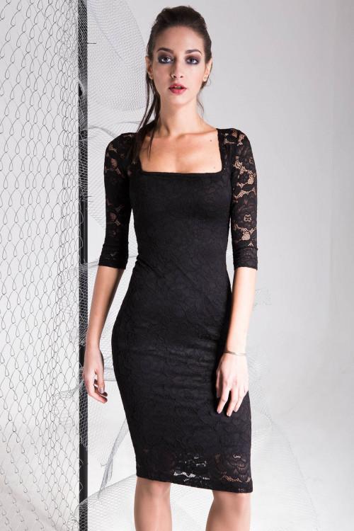 Платье 3323 Черный