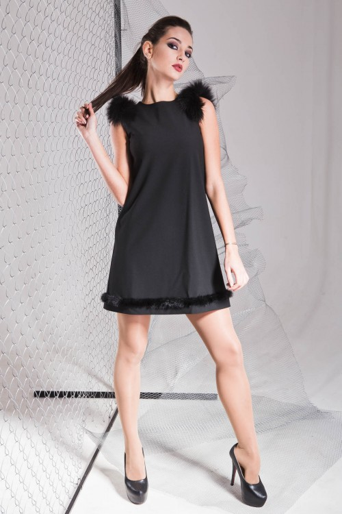 Платье 3320 черный