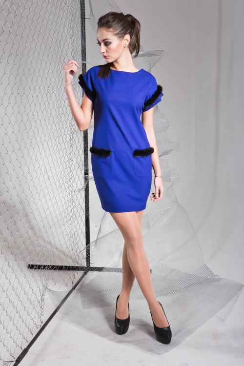 Платье 3319 электрик