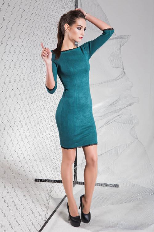 Платье 3317 бутылочный