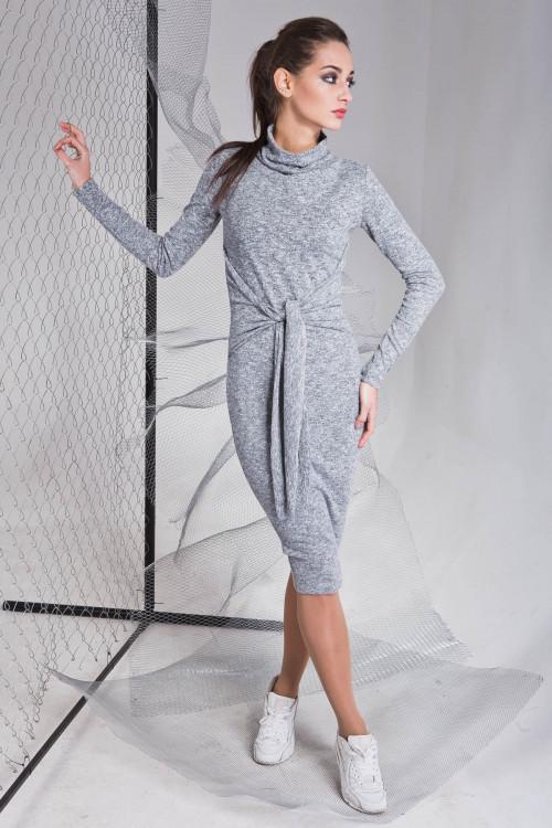 Платье 3324 серый