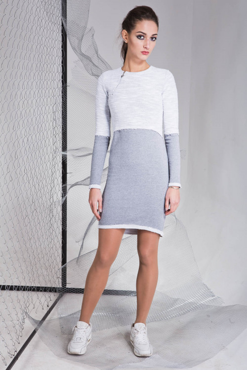Платье 3321 серый
