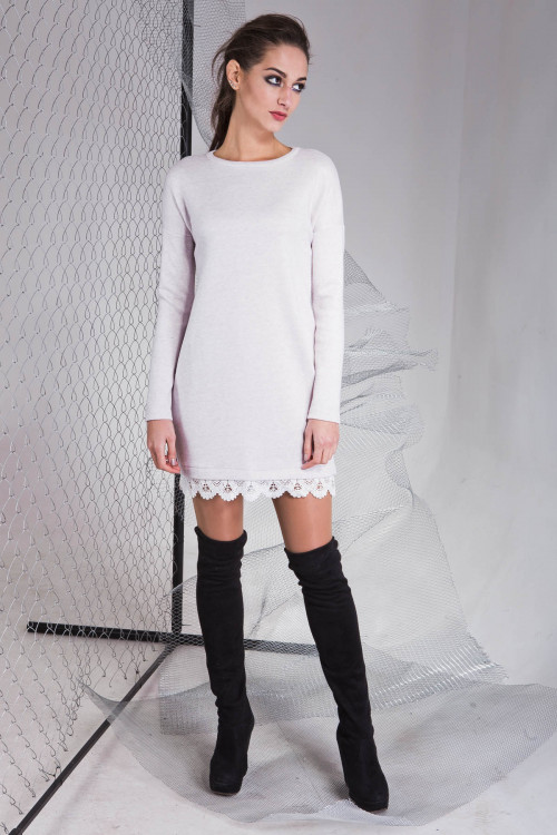 Платье 3315 серый