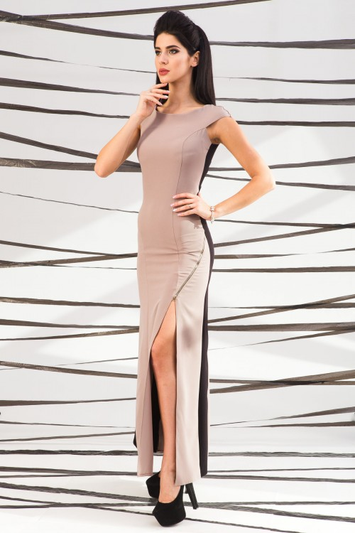 Платье 01-42 беж