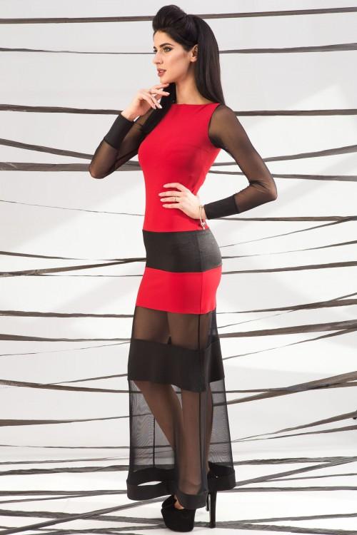 Платье 01-48 красный