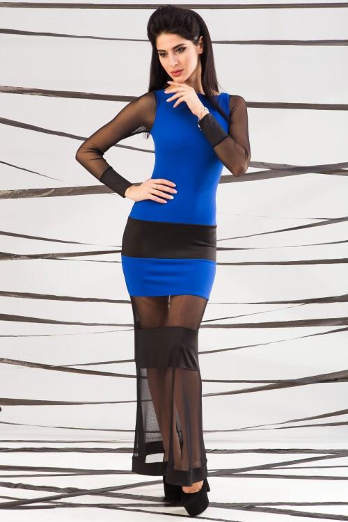 Платье 01-48 электрик