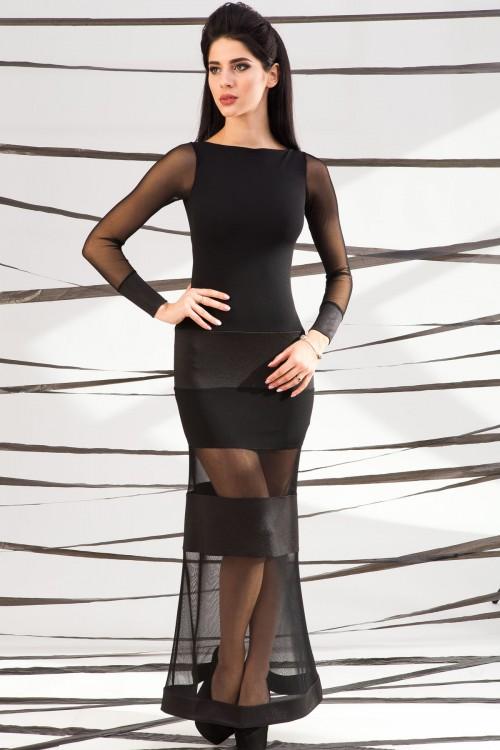Платье 01-48 черный