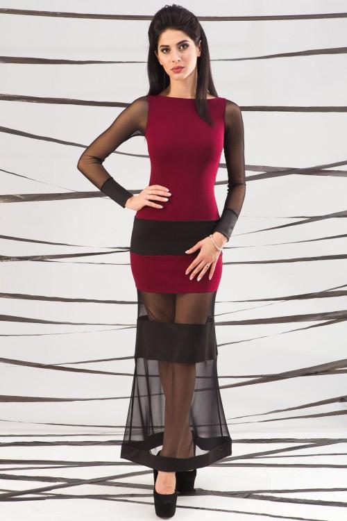 Платье 01-48 марсал
